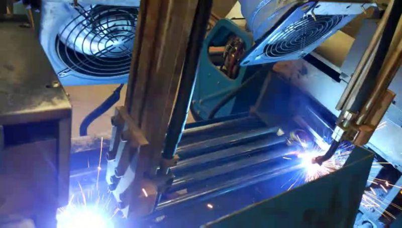 钢制柱型散热器的焊接工艺