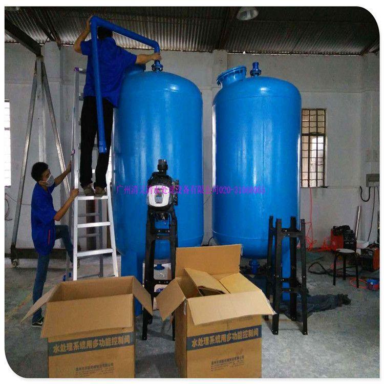 清又清热销石英砂过滤器 恩平市立式A3碳钢机械过滤罐 石油化工水
