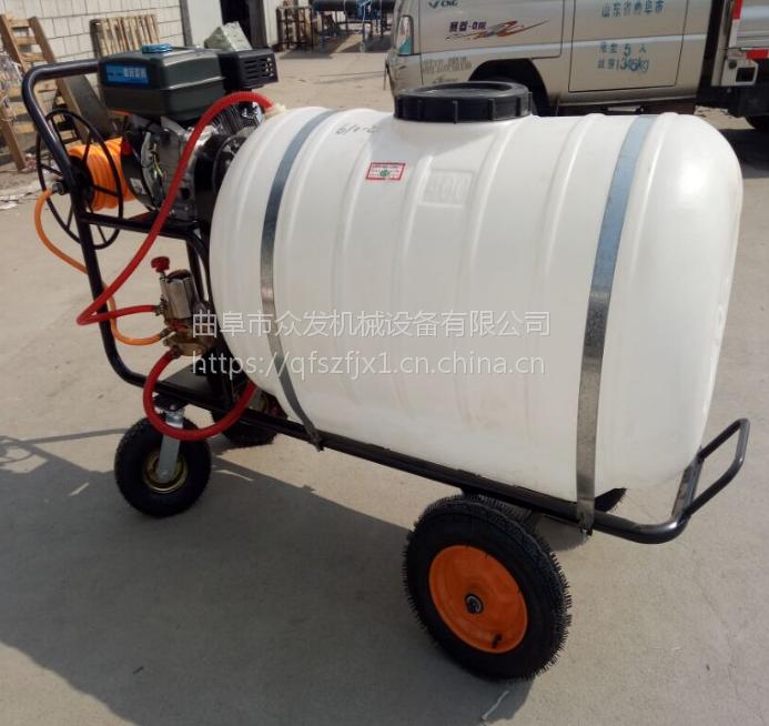 自走式三轮喷雾器 拉管30米可调专用打药机 园林机械