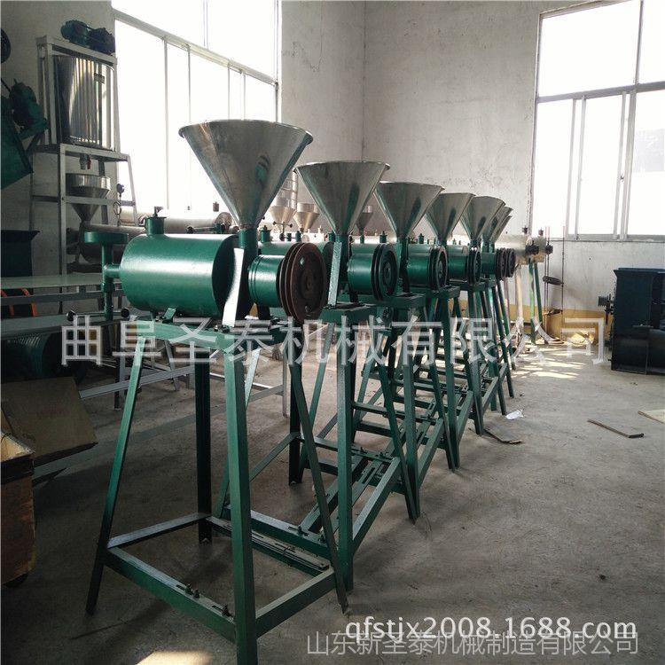 电加热蒸汽式红薯粉条机 螺旋推进自熟式川粉粉丝机不断条不粘连