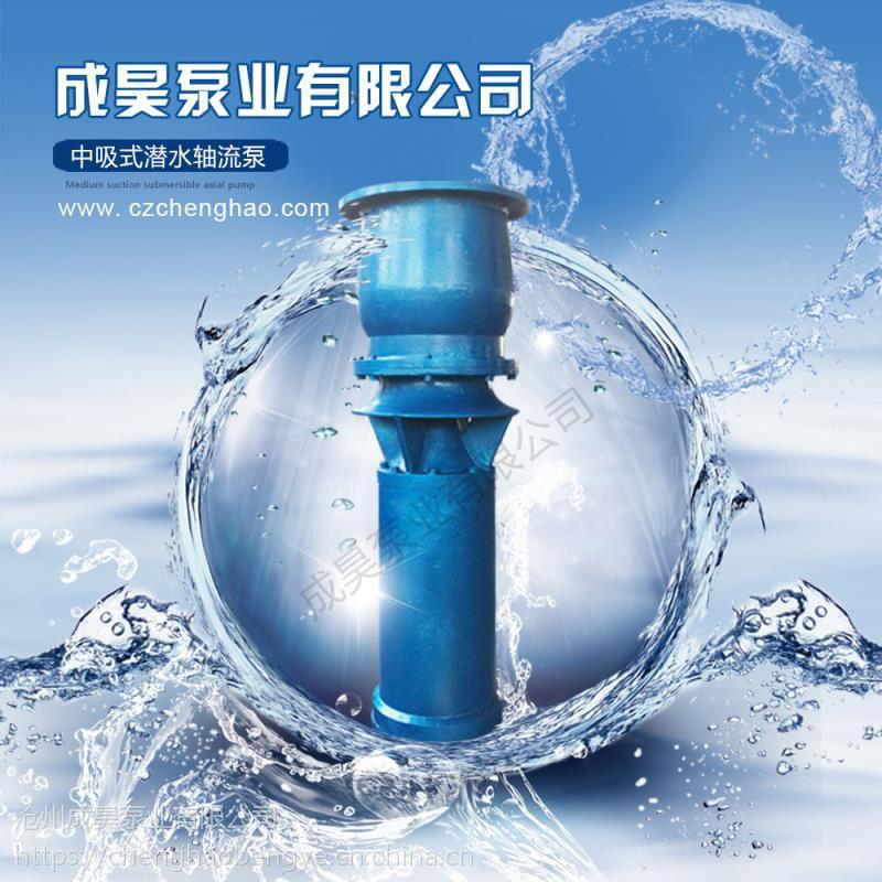 潜水轴流混流泵不阻塞