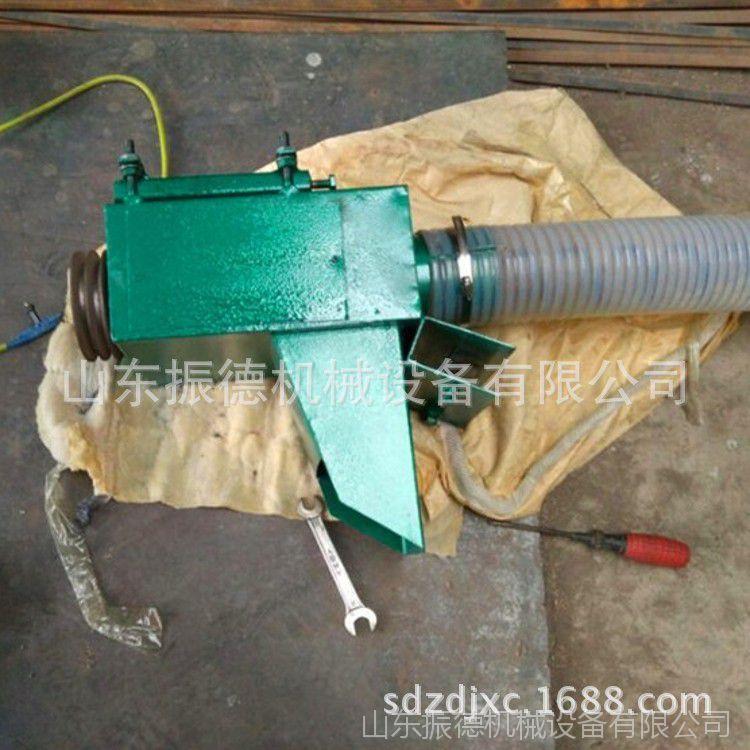 电动玉米车载吸粮机 振德热销软管装车抽粮机  小型家用吸粮机