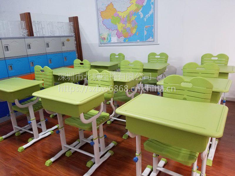 深圳学校培训桌椅*培训机构桌椅批发*培训室培训桌椅