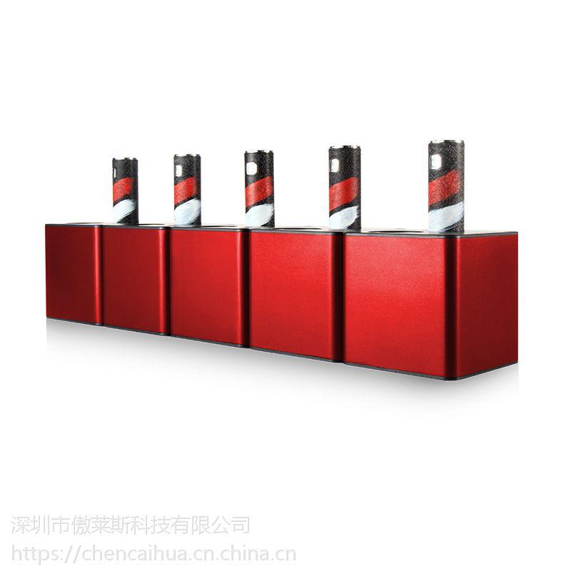 新款烟杆桌面系统二代充电电子烟展示架
