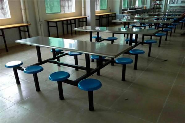 厂家供应惠州八人不锈钢餐桌 学校食堂餐桌椅款式规格齐全
