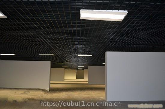 广东德普龙粉末静电喷涂铝合金格栅结构精巧厂家供应