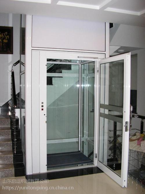 启运定制别墅电梯 直销安国市 北市区 临汾市铝合金井道室外电梯 液压升降台