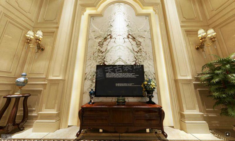 重庆保利别墅装修工地,天古装饰龙湖高端设计部设计师吴德风作品