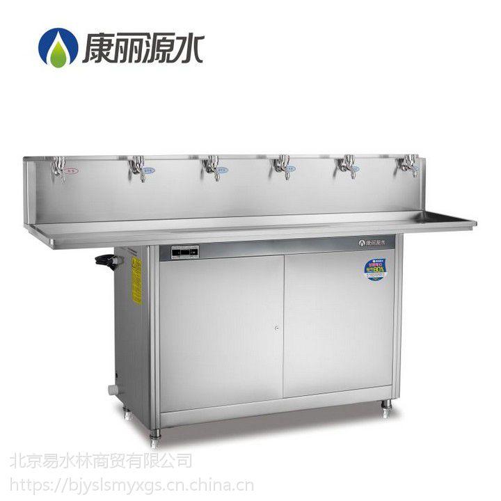 康丽源节能高背板饮水台温水开水直饮水机K-6E