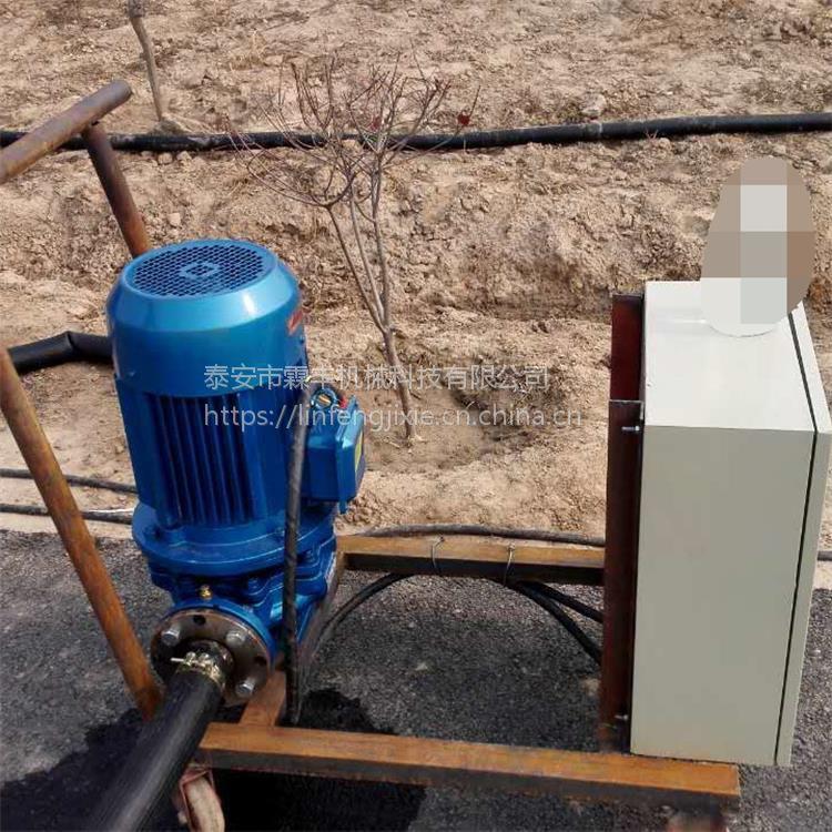 柴油机水泵能带动喷灌么?