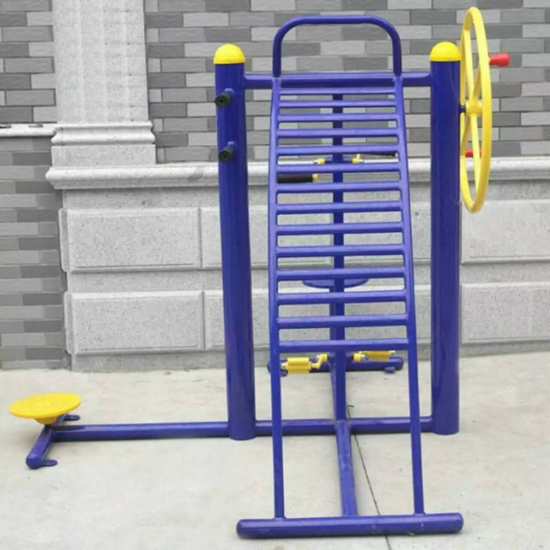 大量现货室外健身路径平步机厂家报价,三位压腿器价钱,制作厂家