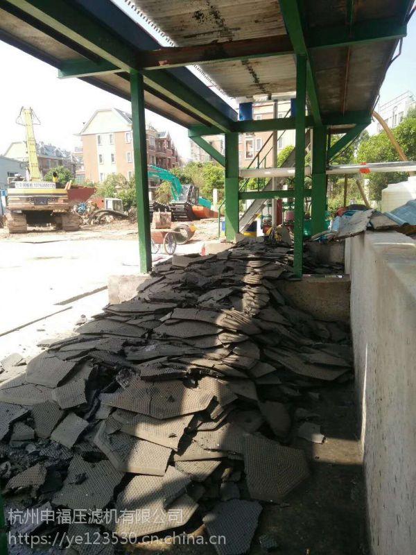 砂石厂泥浆脱水机快速解决各大沙石厂的需求