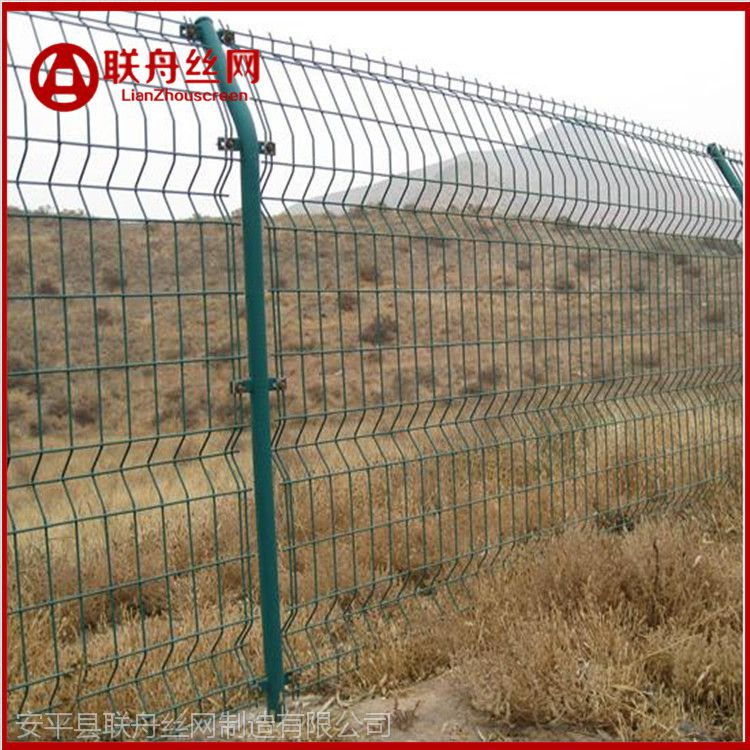 田地防盗围网 园林隔离防护网 通化焊接牢固护栏网厂商是河北联舟