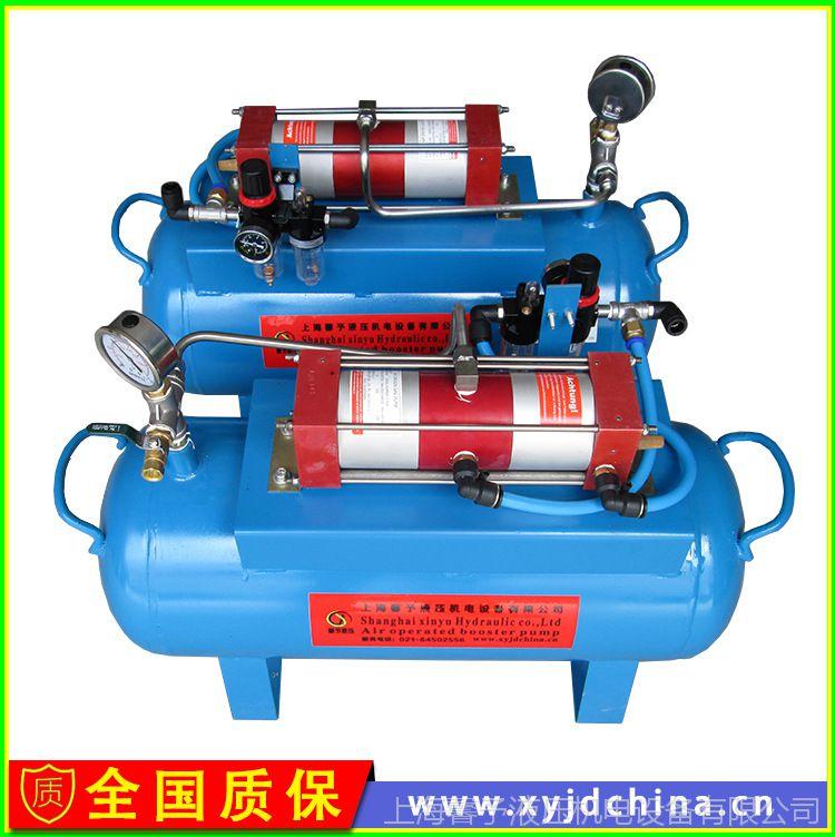 供应进口气动气体增压泵 WSA系列空气增压器8MPA价格