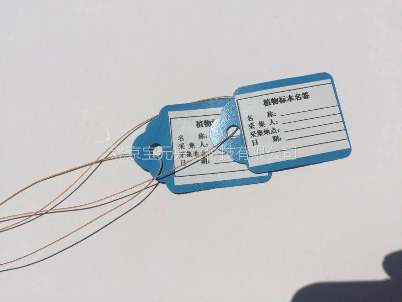 标本挂签、植物标本绳签