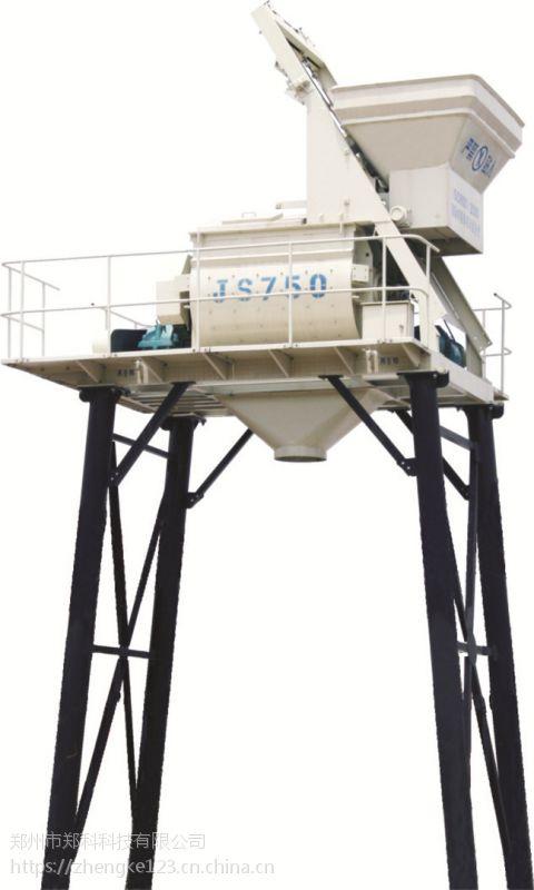 铜仁郑科500/750强制式配料机组合用搅拌机高效低耗