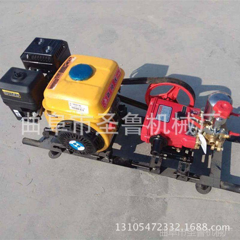 汽油高压喷雾器 担架式打药机 农田拉管式喷药机
