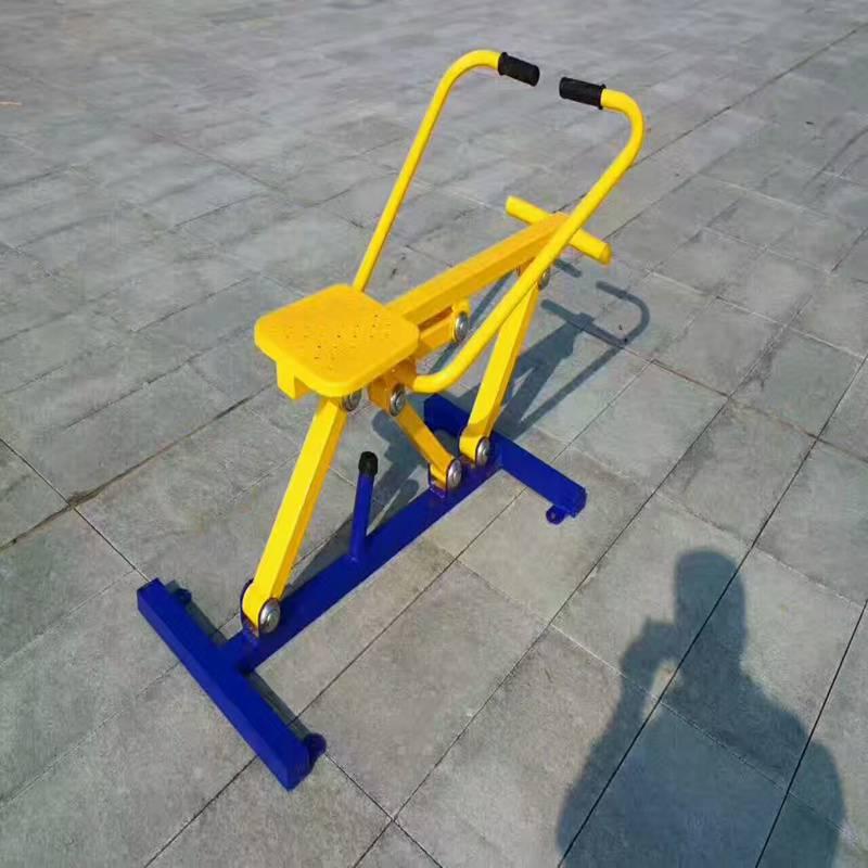 工厂价直销腹肌训练器户外生产厂家,户外单人健骑机2017年价格,出厂价