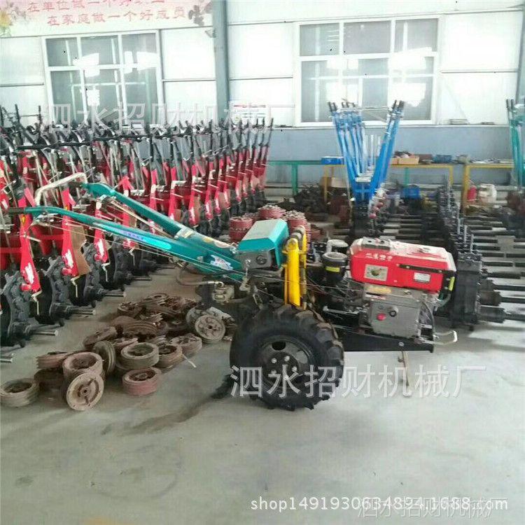出口精品15马力农用手扶拖拉机 新型土豆收获机械配套手扶拖拉机