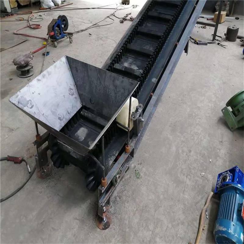 手摇升降式输送带 润华 粮仓装粮运输机 空心砖装车输送机