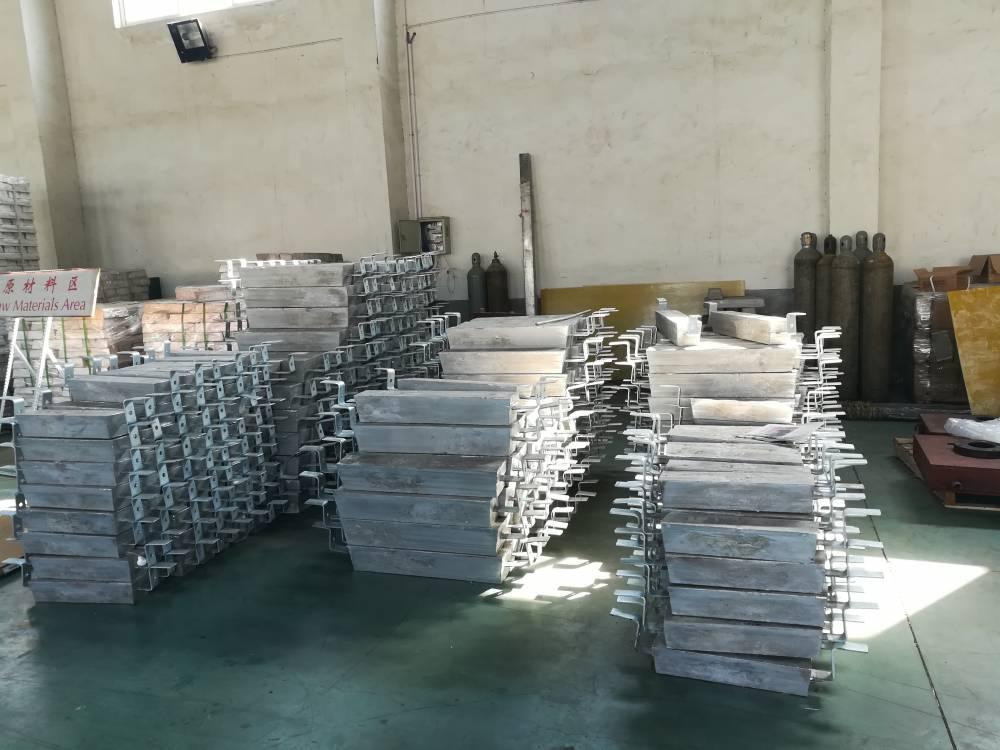港口钢桩阴极保护用牺牲阳极