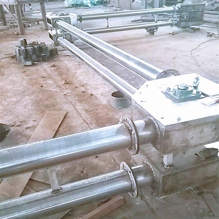 水平管链输送机 垂直管链提升机 管链输送机图纸 徐