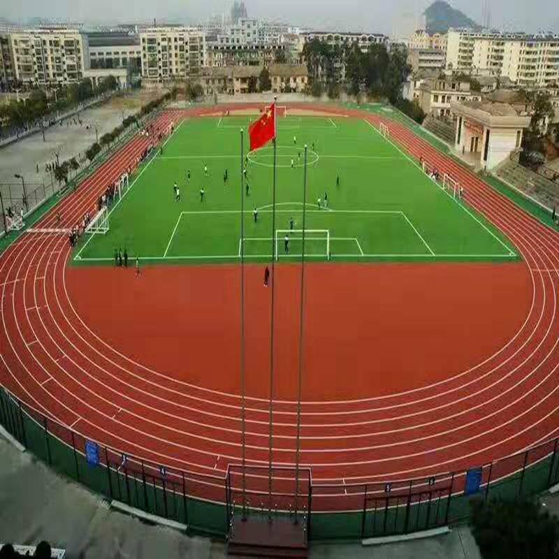 昆明健身房塑胶跑道大量现货 奥博网球场塑胶跑道批发商
