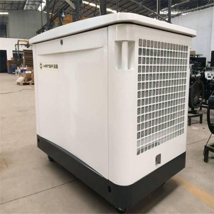 医院备用25千瓦燃气发电机 静音 电启动