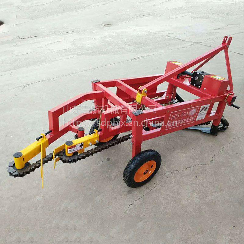 小型家用花生收获机厂家 家用出花生机 普航条铺挖地瓜机价格