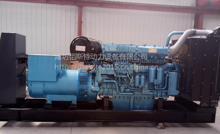 潍柴重机王400kw千瓦柴油发电机组WHM6160SD518-5 工地工程建筑专用
