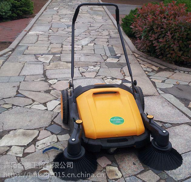 合美:手推式扫地机在机械加工厂的应用效果如何?