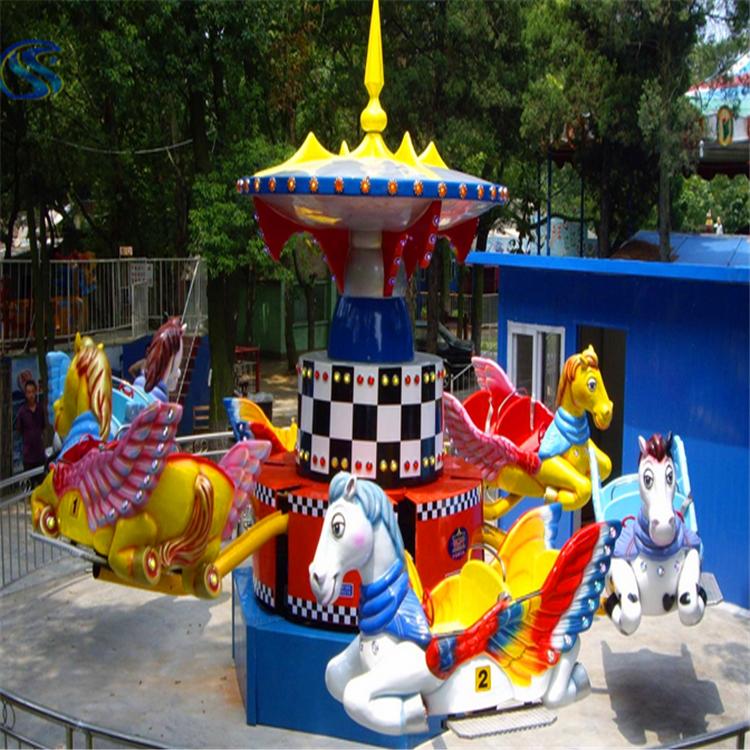 小型弹跳小汽车广场儿童游乐设备景区超市受欢迎游艺设施