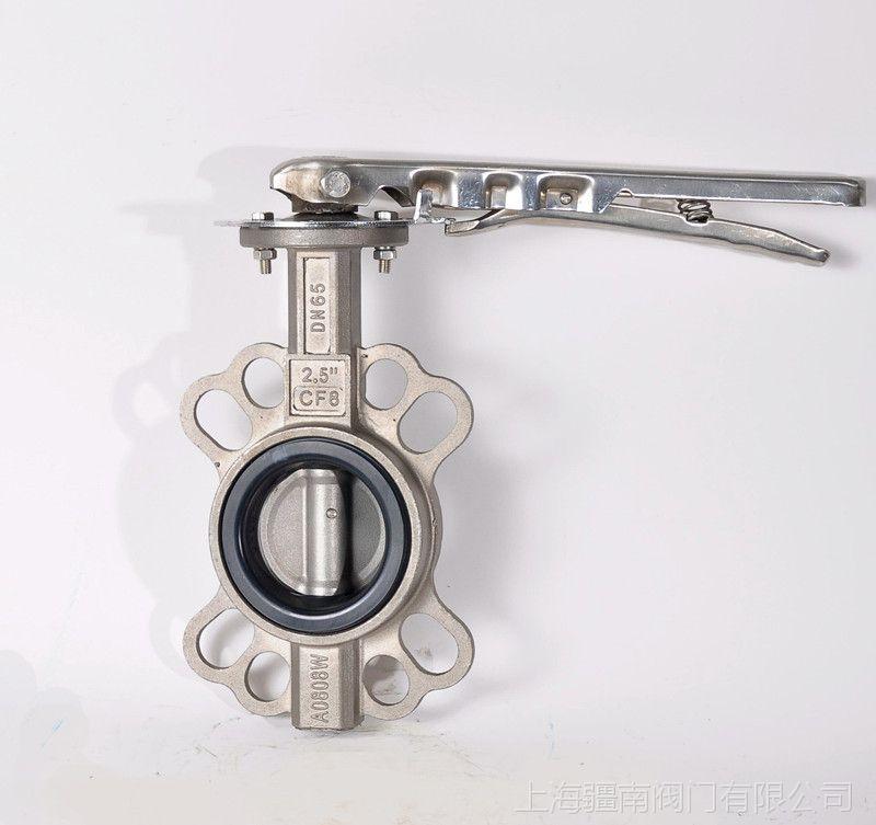 D71X-16C手动蝶阀DN150,D71W-25C手动蝶阀,铸钢对对夹式蝶阀