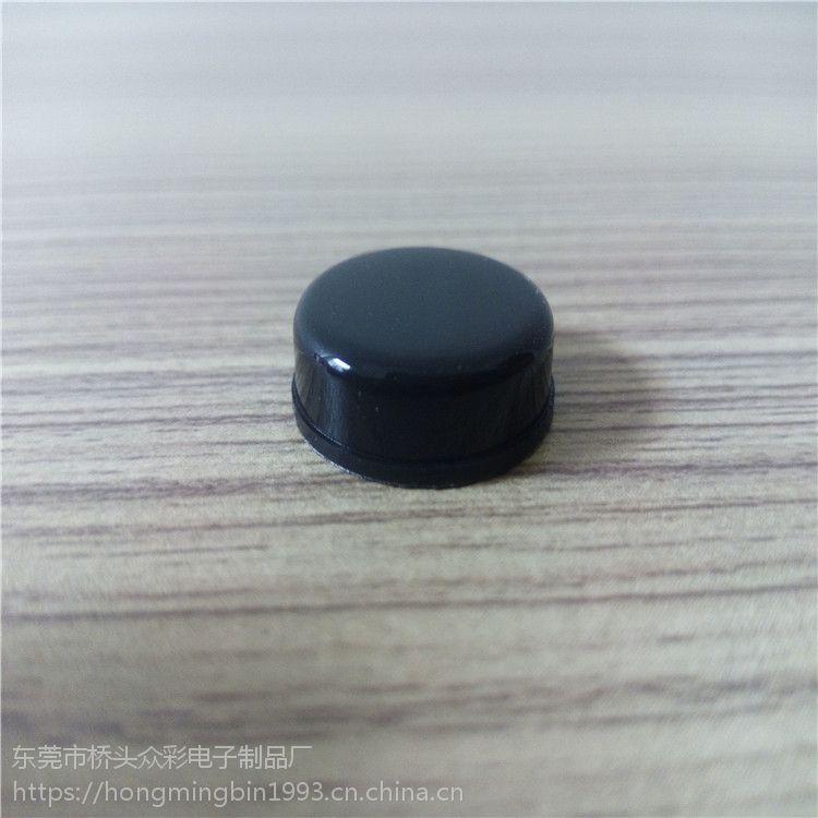山东硅胶12*5.3mm防尘圆垫 外径12mm内径5.3粘胶垫