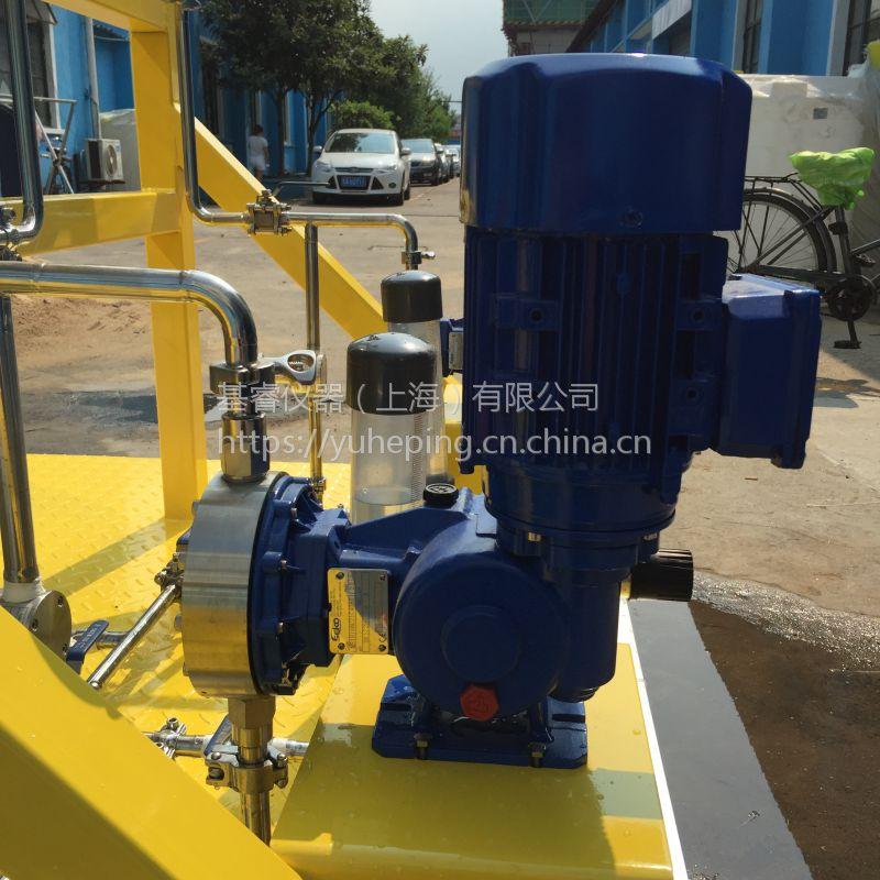 SEKO意大利赛高机械隔膜计量泵MSA系列电机驱动计量泵MS1A094A21/31/41