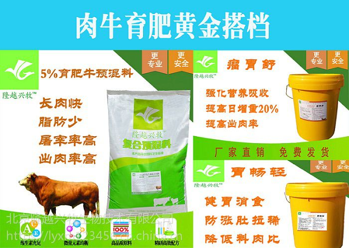 肉牛预混料的成分是什么,预混料的主要成分