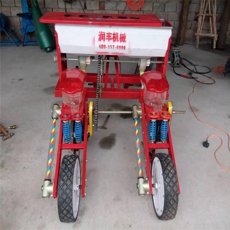 汉口玉米大豆播种机 花生播种机 汽油机手扶式