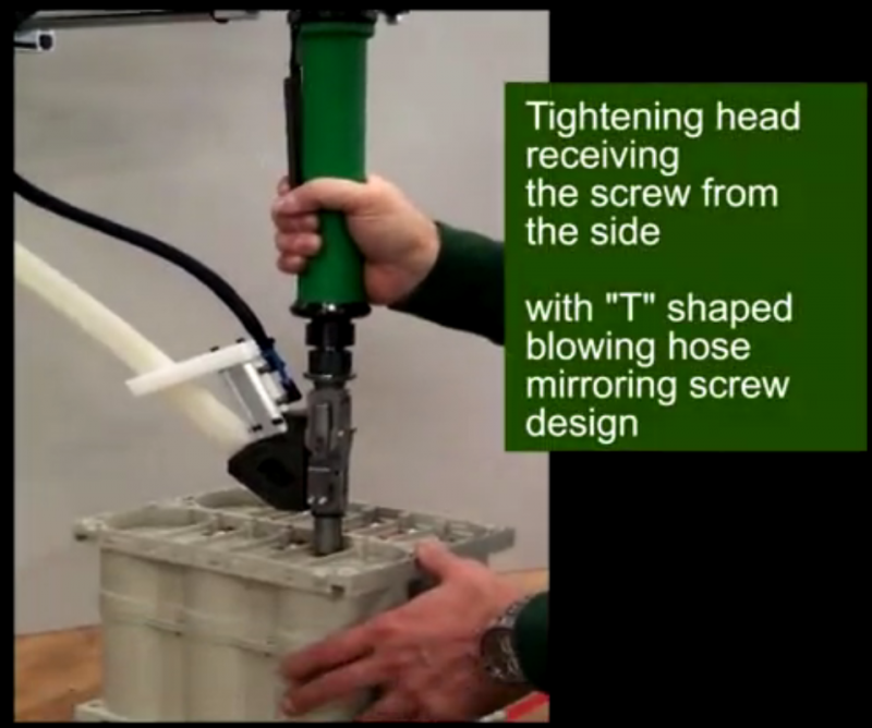 ASG拧紧轴搭配多关节机器手实现自动化锁附