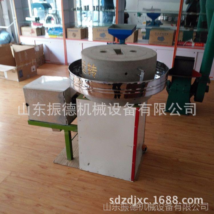 玉米小麦面粉石磨机 振德牌 电动石磨面粉机 粮食加工石磨机