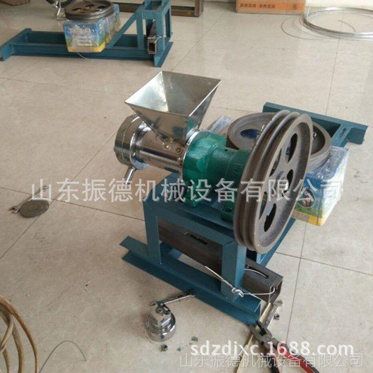 小麦面粉食品膨化机 多功能糖酥果机 振德供应 自动切断膨化机