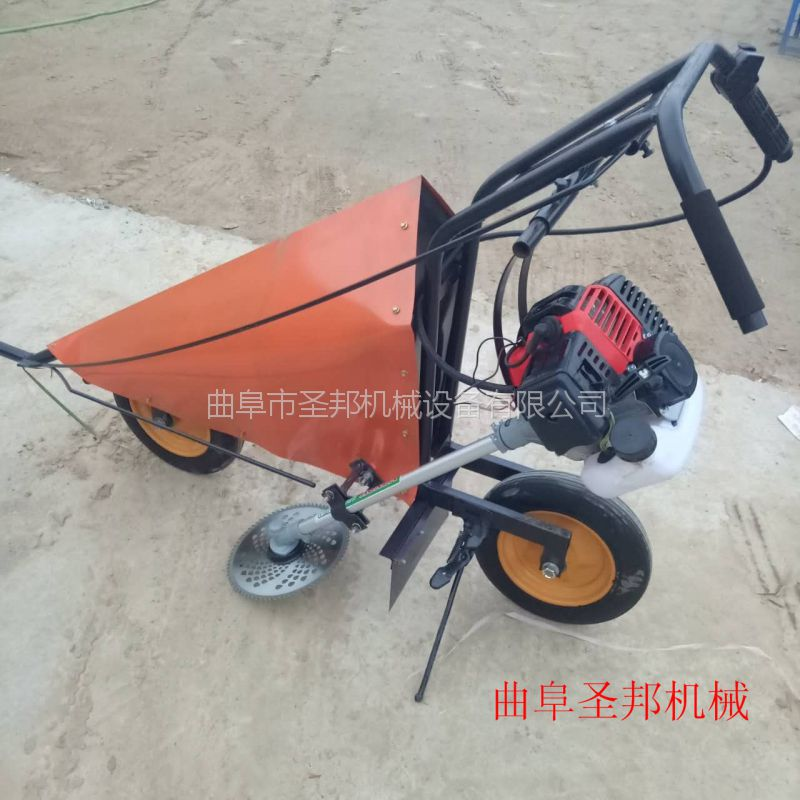 黄豆收割机生产厂家 手推式秸秆收割机