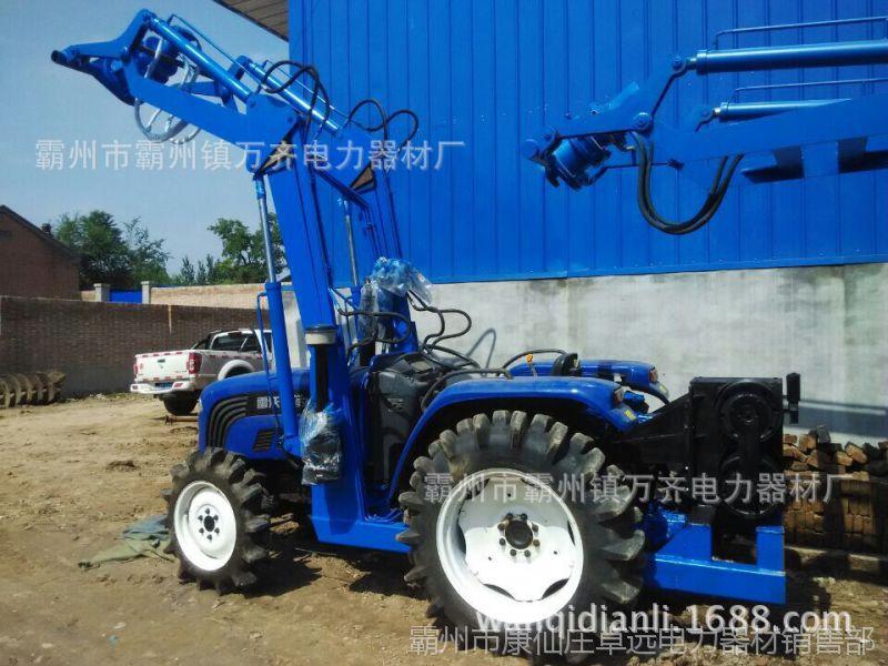 厂家牵引挖坑机一体机 改装拖拉机挖坑机