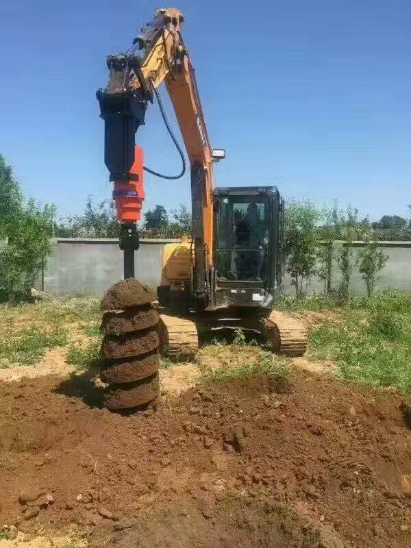 厂家热销挖掘机配套螺旋钻土层 风动螺旋钻 厂家现货 定金发货