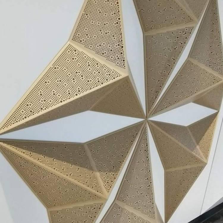 天津异形幕墙穿孔铝单板国标正品