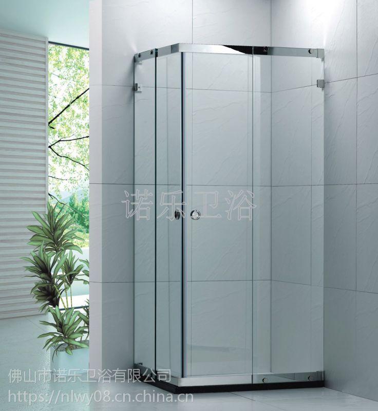 淋浴房整体浴室简易沐浴房钢化玻璃一体式防水整体卫生间房集成
