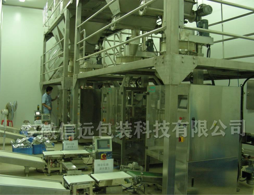 陕西榆林火锅底料自动包装机,小袋调味品全自动包装设备