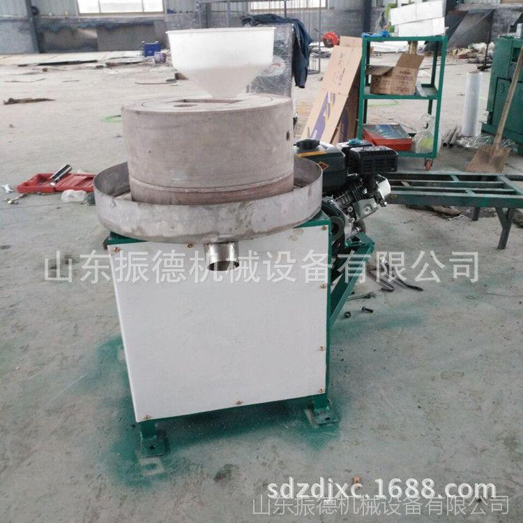 振德新款供应电动豆浆石磨 低速研磨米浆电动石磨机 磨芝麻盐机