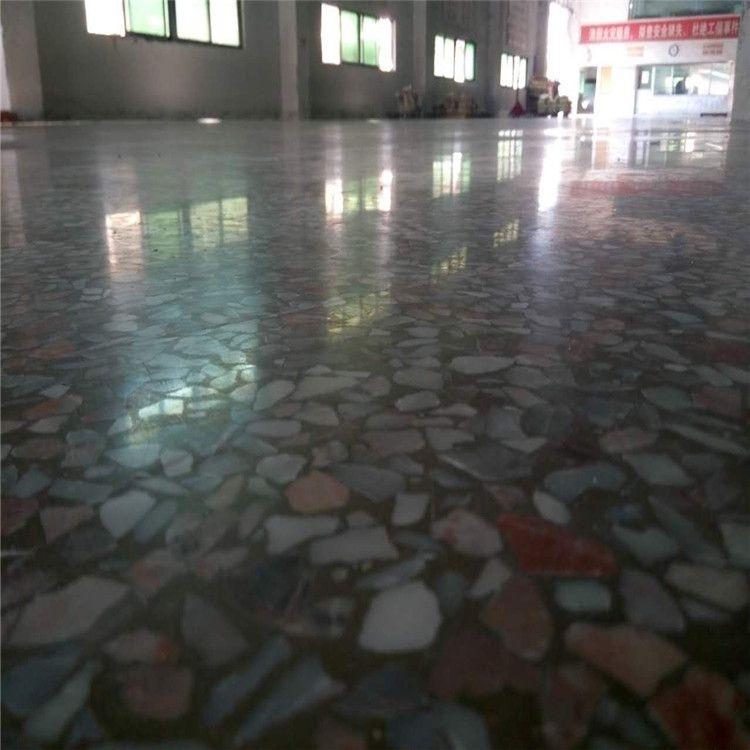 惠州水磨石地板翻新-陈江水磨石地面油污处理