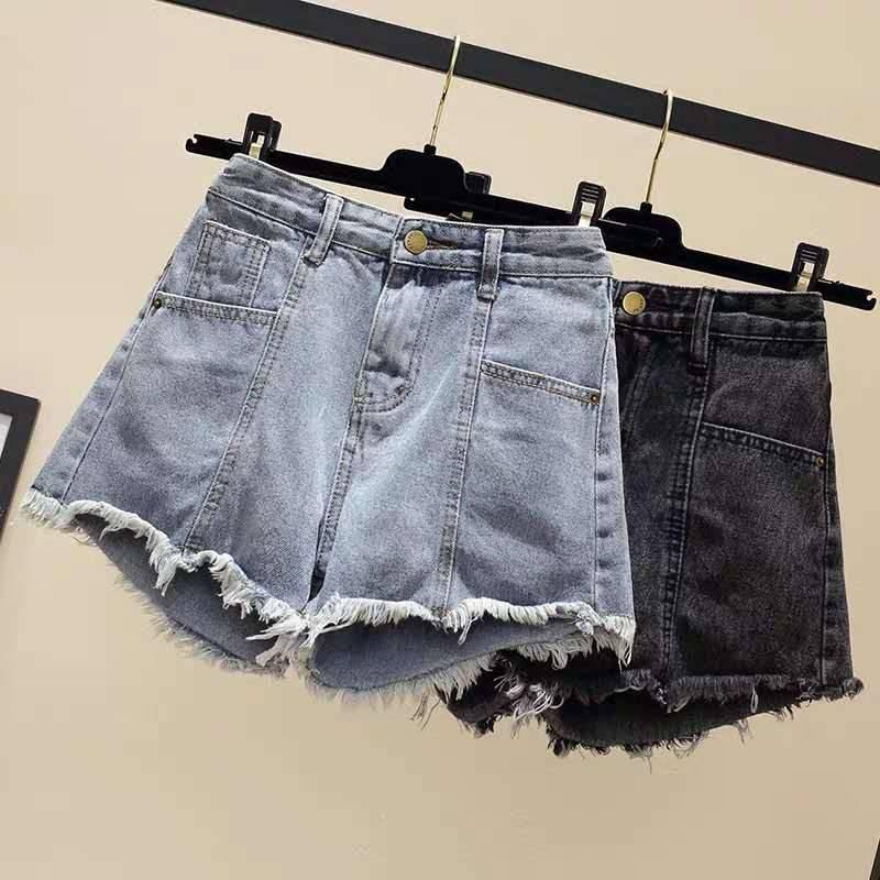 2018夏季青海牛仔长裤批发外贸便宜几元女士小脚牛仔短裤批发