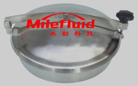 卫生级椭圆奶罐人孔,304不锈钢椭圆奶罐人孔生产厂家